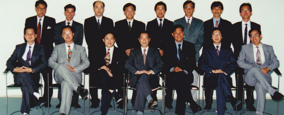 First photo of Inauguration Committee Members       首屆全體執行委員會成員大合照