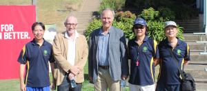 Stephen Lee, Damien Tudehope MP, John Alexander MP, Allan Leung, Victor Chan 12/3/2016