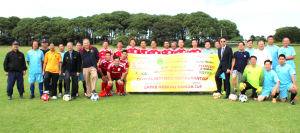 Kick-off Ceremony ACSA Soccer League Tournament  2016 Crystal Seafood Restaurant Cup